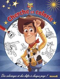 Toy story 4 : cherche et colorie