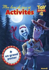 Toy story 4 : mon livre de jeux et d'activités