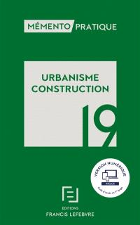 Urbanisme, construction 19