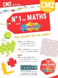 N°1 en maths avec Mathador CM2, 10-11 ans