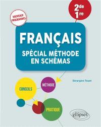 Français 2de, 1re : spécial méthode en schémas : nouveaux programmes