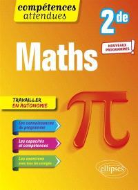 Maths, 2de : nouveaux programmes