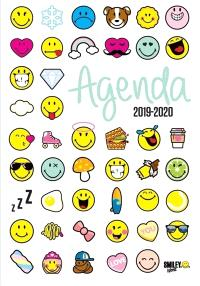 Smiley emoticônes : agenda 2019-2020