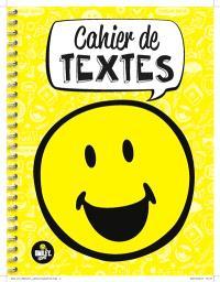 Smiley : cahier de textes