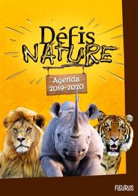 Défis nature : agenda 2019-2020