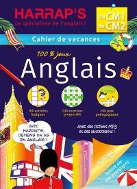 Cahier de vacances anglais Harrap's : du CM1 au CM2, 9-10 ans