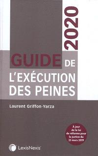 Guide de l'exécution des peines 2020