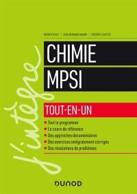 Chimie MPSI : tout-en-un