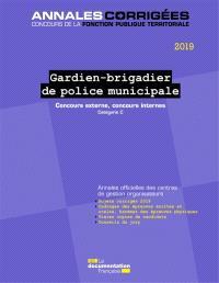acfa1b4788e Gardien-brigadier de police municipale 2019   concours externe