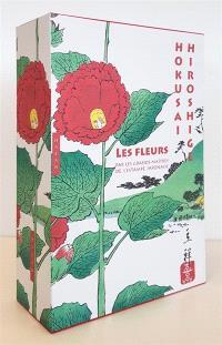 Les fleurs par les grands maîtres de l'estampe japonaise : Hokusai, Hiroshige