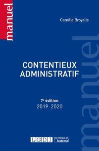 Contentieux administratif : 2019-2020