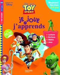 Toy story : je joue et j'apprends : moyenne section, 4-5 ans