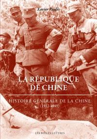 Histoire générale de la Chine, La République de Chine : 1912-1949