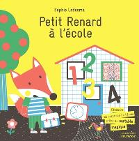 Petit Renard à l'école : découvre les surprises de l'école grâce au cartable magique