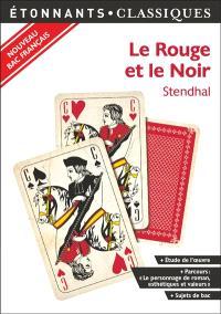 Le rouge et le noir : nouveau bac français