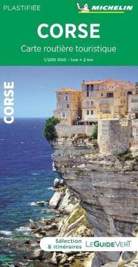 CARTE ROUTIERE TOURISTIQUE CORSE