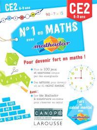 N°1 en maths avec Mathador CE2, 8-9 ans