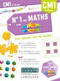 N°1 en maths avec Mathador CM1, 9-10 ans