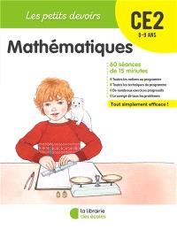 Mathématiques CE2, 8-9 ans : 60 séances de 15 minutes