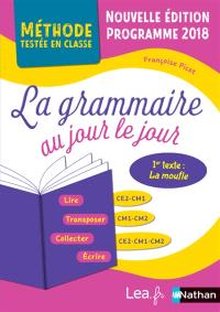La grammaire au jour le jour, CE2, CM1, CM2 : programme 2018