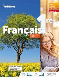 L'écume des lettres, français 1re : programme 2019