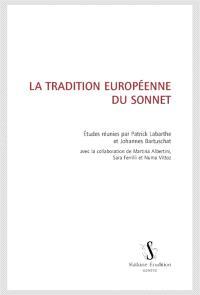 La tradition européenne du sonnet