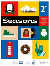 Seasons, anglais 2de, A2-B1 : programme 2019