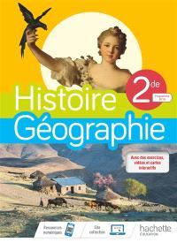 Histoire géographie 2de : programme 2019