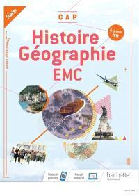 Histoire géographie, EMC, CAP : fichier : programme 2019