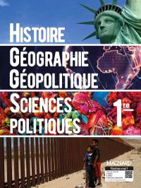 Histoire géographie, géopolitique, sciences politiques 1re