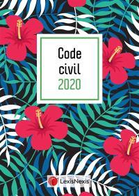 Code civil 2020 : jaquette hibiscus