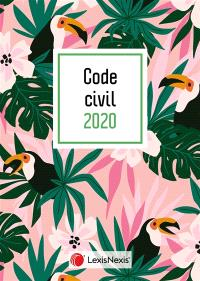 Code civil 2020 : jaquette toucan