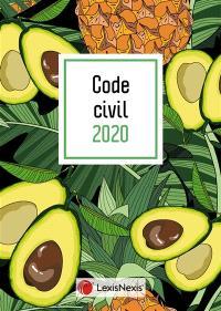 Code civil 2020 : jaquette avocat
