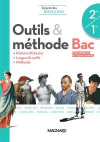 Outils et méthodes, bac voies générale et technologique, 2de, 1re : histoire littéraire, langue & outils, méthode