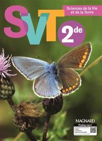 SVT, sciences de la vie et de la Terre, 2de