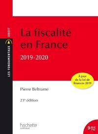 La fiscalité en France : 2019-2020