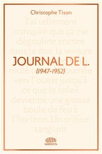 Journal de L. : extraits 1947-1952