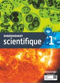 Enseignement scientifique 1re : manuel élève