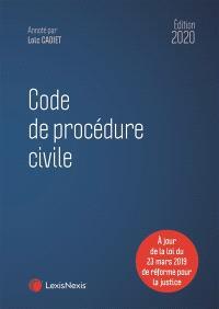 Code de procédure civile 2020
