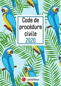 Code de procédure civile 2020 : jaquette perroquet