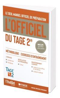 L'officiel du Tage 2 : manuel officiel de préparation : méthodologie, exercices d'entraînement