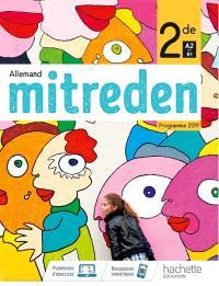 Mitreden, allemand 2de, A2-B1 : programme 2019