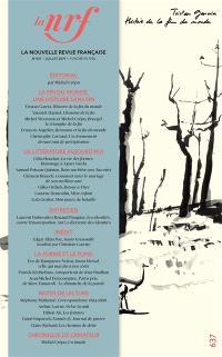 Nouvelle revue française. n° 637