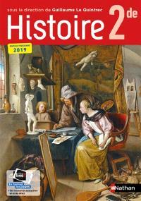 Histoire 2de : nouveau programme 2019