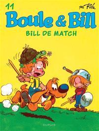 Boule & Bill. Volume 11, Bill de match