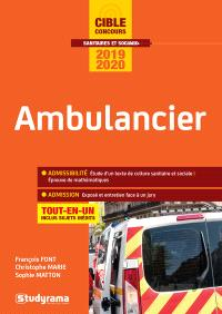 Ambulancier : tout-en-un : concours 2019-2020