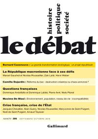 Débat (Le). n° 206
