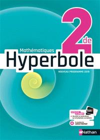 Hyperbole mathématiques 2de : nouveau programme 2019