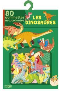 Les dinosaures : 80 gommettes autocollantes