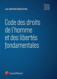 Code des droits de l'homme et des libertés fondamentales 2020